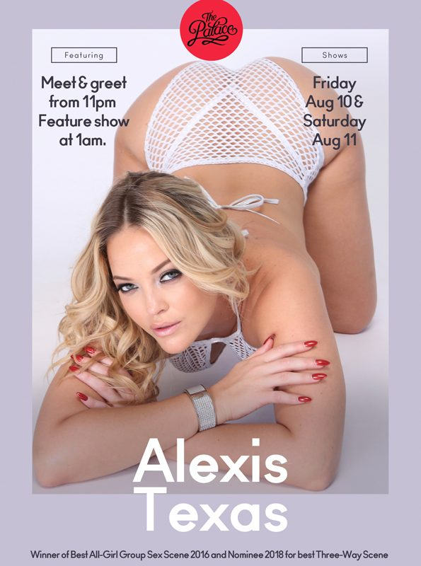 Alexis Texas - The Palace Adelaide, 111 Hindley St, Adelaide