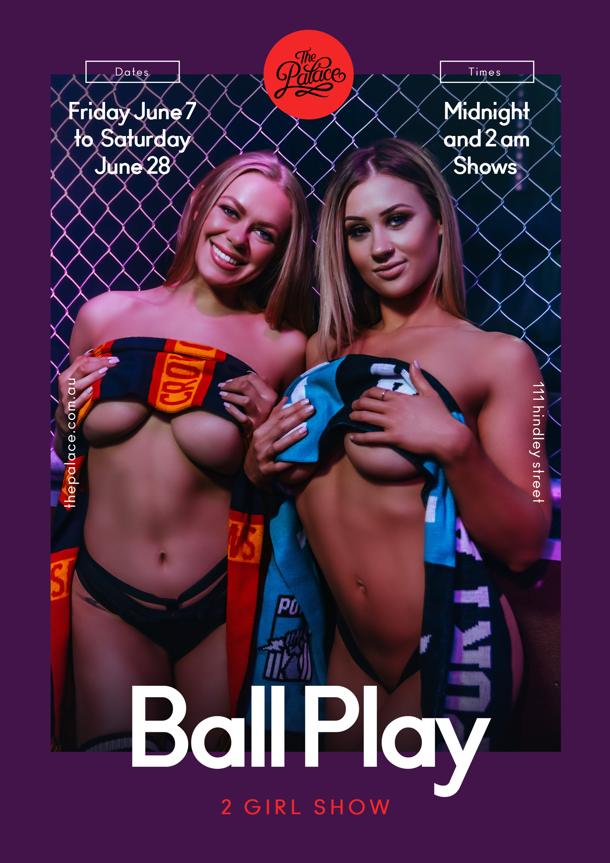 Ball Play - The Palace Adelaide, 111 Hindley St, Adelaide